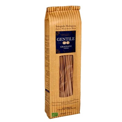 *Whole Wheat Spaghetti by Gentile: Organic