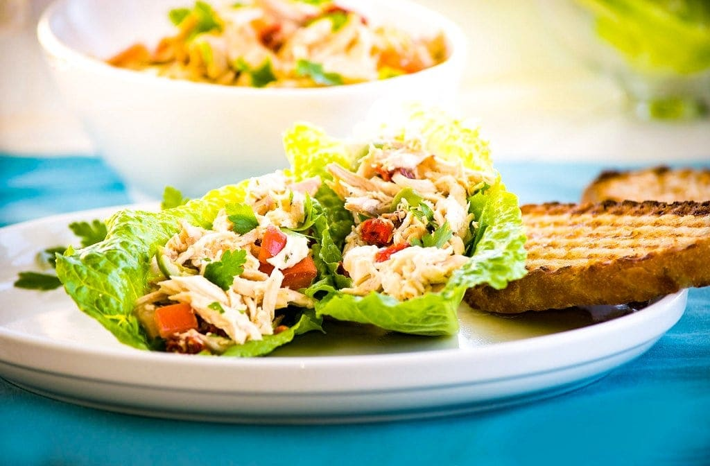 Italian Chicken Salad Without Mayo