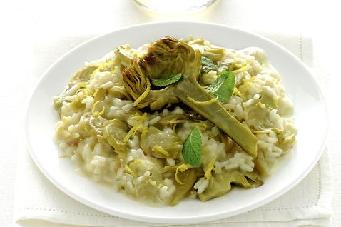 Risotto with Artichokes is a recipe easy and healthy to make.