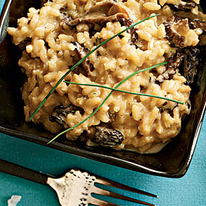 Risotto with morels is a delicious and easy dish to cook.