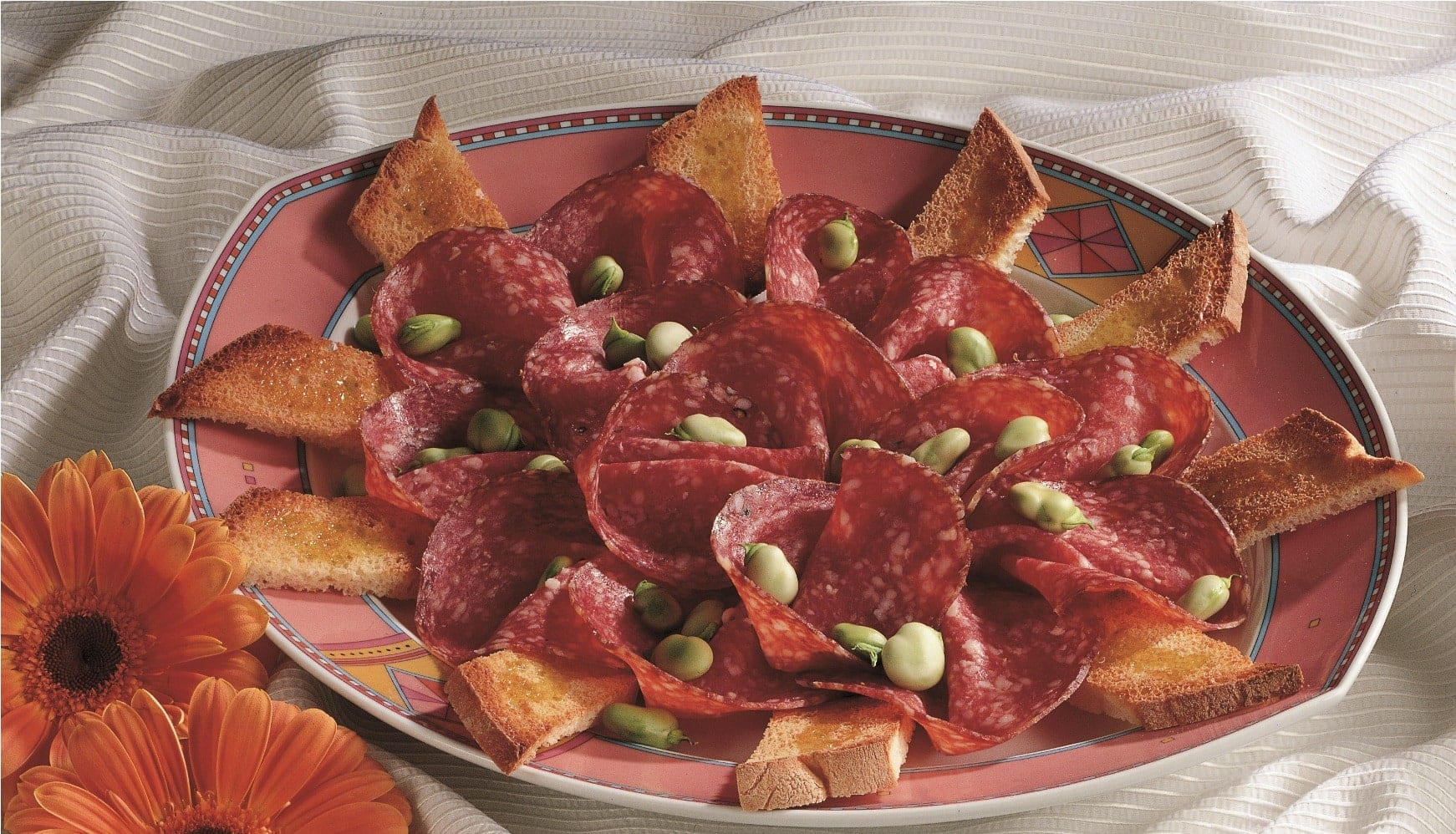 What is salami made of and what's the best way to serve it.