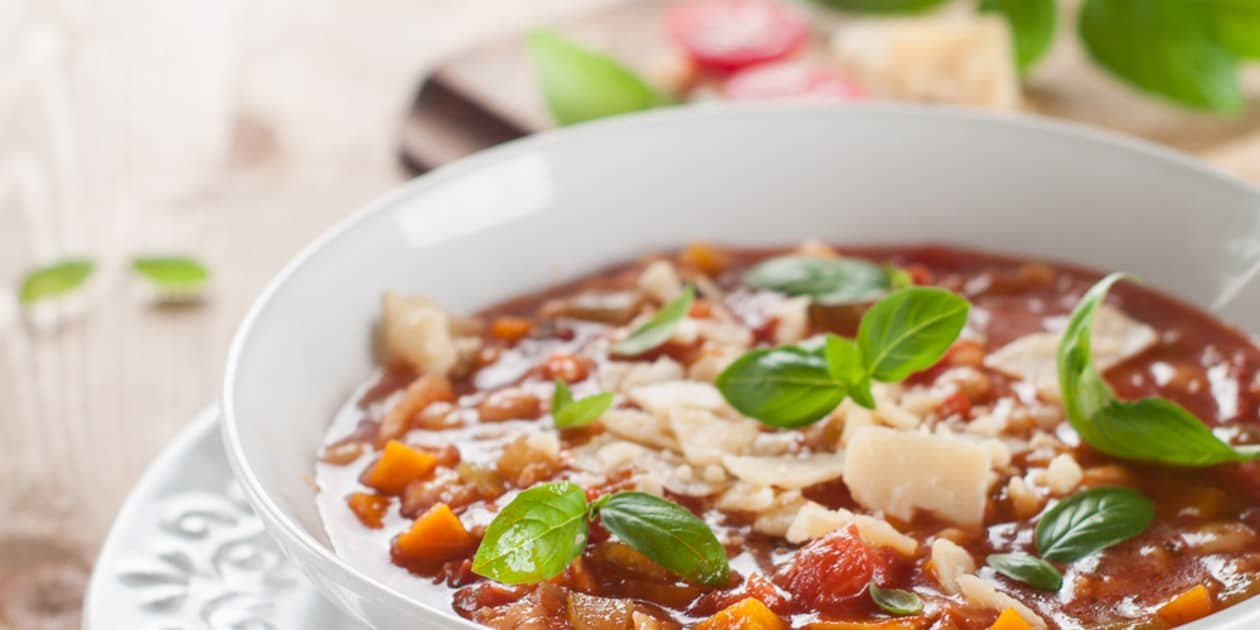 The authentic Italian Minestrone soup recipe is not as difficult as it sounds.