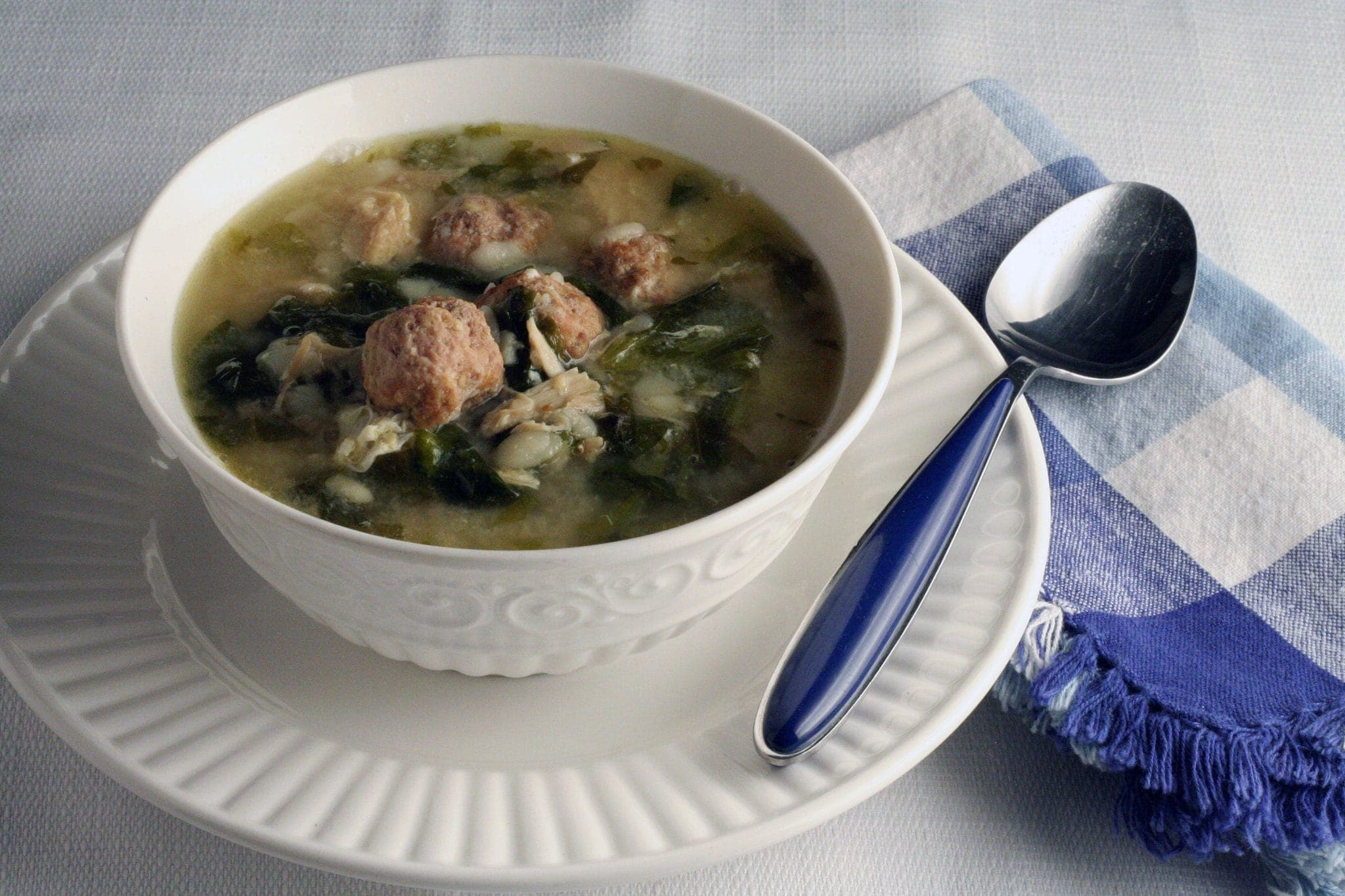 You will want to try this Authentic Italian Wedding Soup Recipe